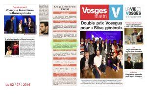 Vosegus Vosges Matin